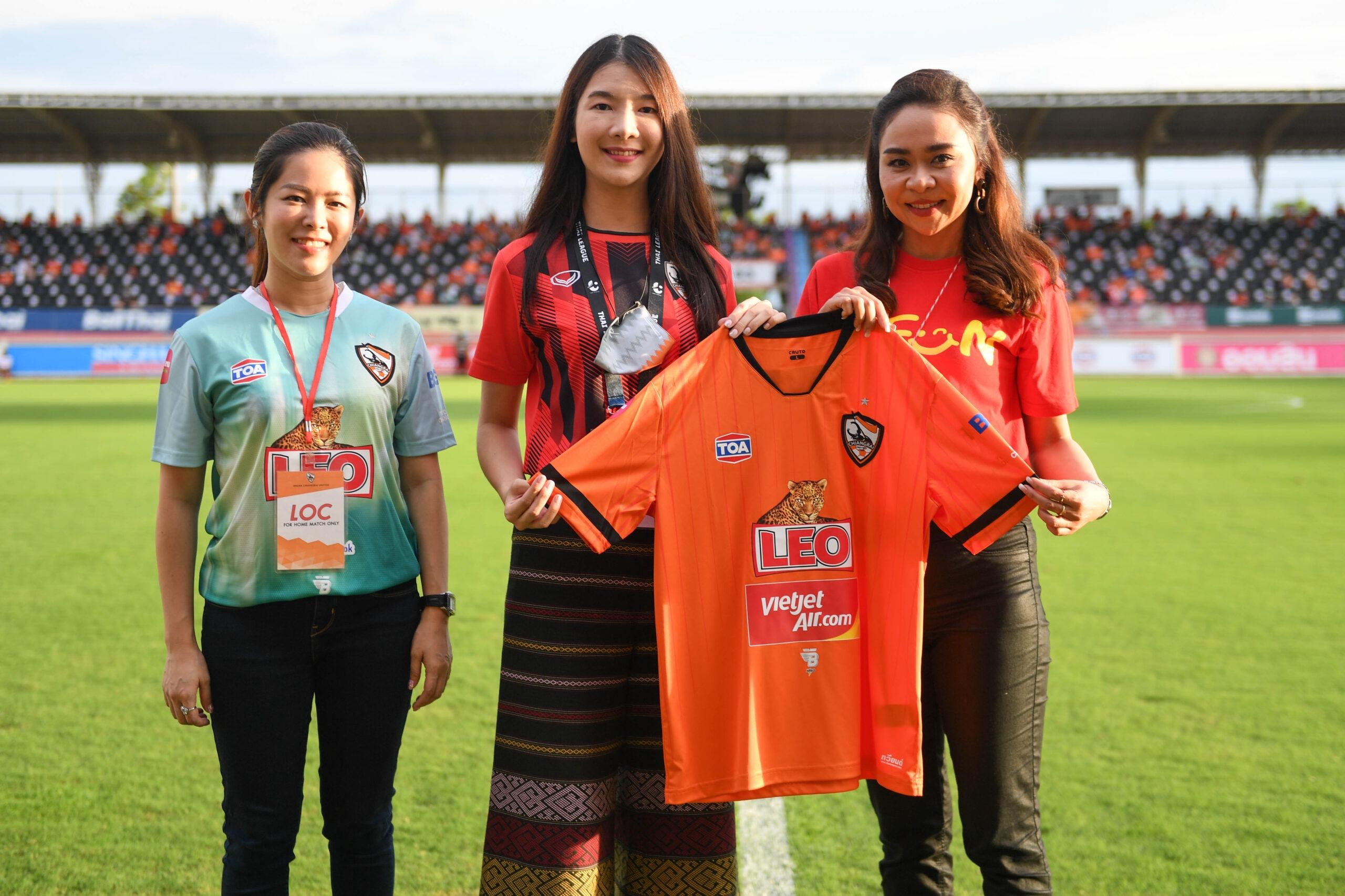 สายการบินไทยเวียตเจ็ทจับมือสโมสรฟุตบอลเชียงรายยูไนเต็ด ในฐานะสปอนเซอร์อย่างเป็นทางการ