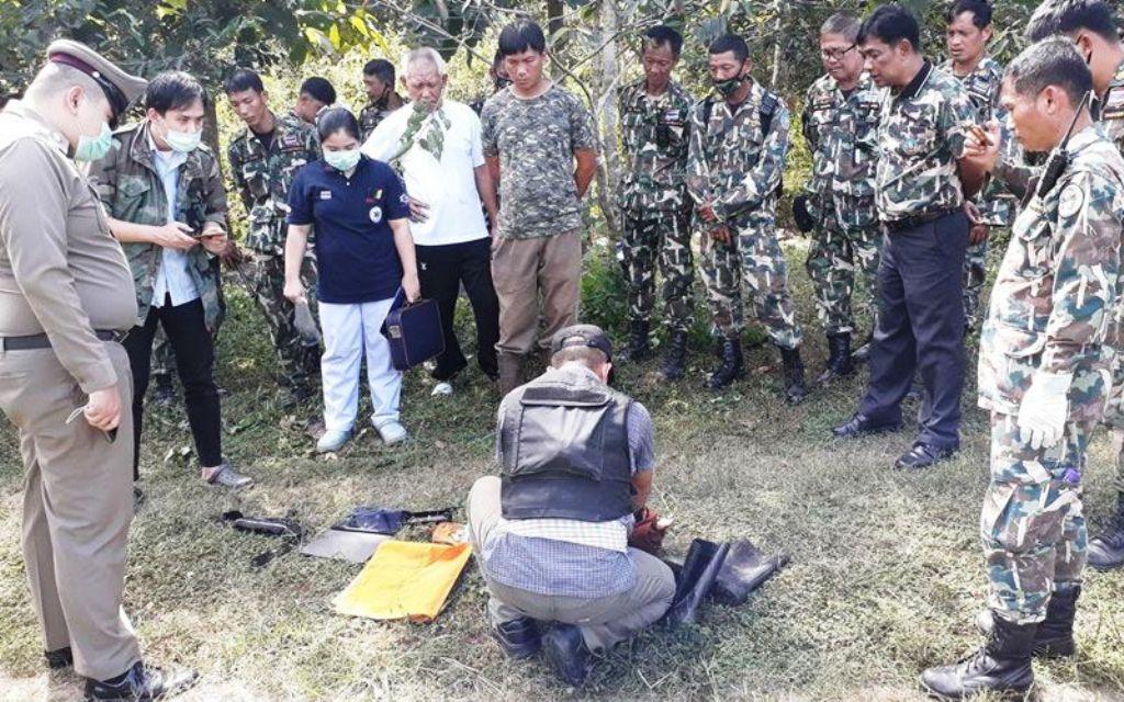 สุดสลด! พระไทยถูกช้างป่าเหยียบย่ำในอุทยานแห่งชาติ