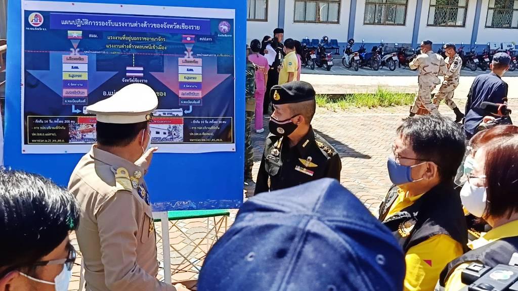 เปิดไทม์ไลน์โควิดหญิงเข้าไทยชายแดนเชียงราย