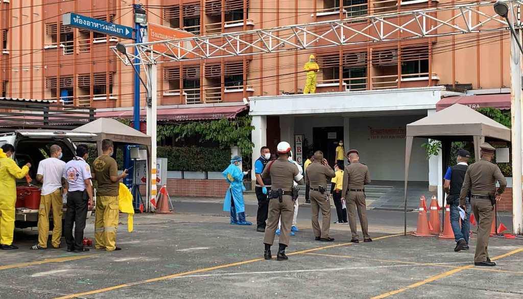 หญิงวัย 51 ตกตึกโรงแรมสถานที่กักตัวโควิดเสียชีวิต