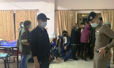 34 ถูกจับในข้อหาเล่นการพนันที่รีสอร์ทหรูทางภาคเหนือของประเทศไทย
