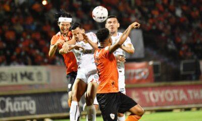 ชลบุรีเอฟซีพ่ายเชียงรายตกรอบ 3-4 ศึกไทยลีก