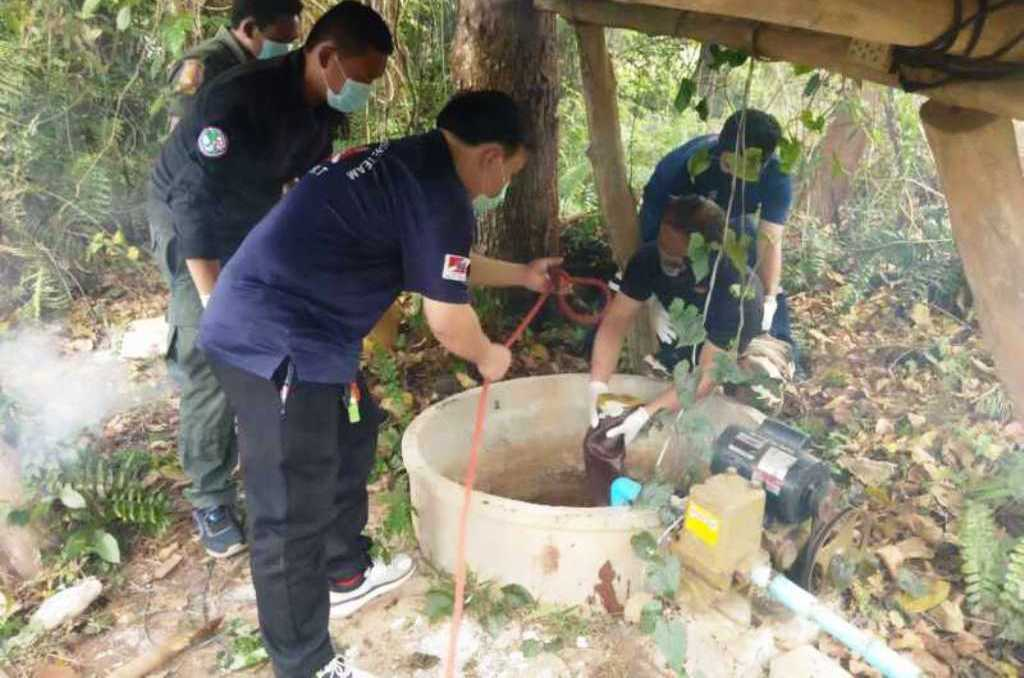 พบศพชายหนุ่มถูกยิงด้วยปืนในบ่อน้ำในอำเภอพานเชียงราย