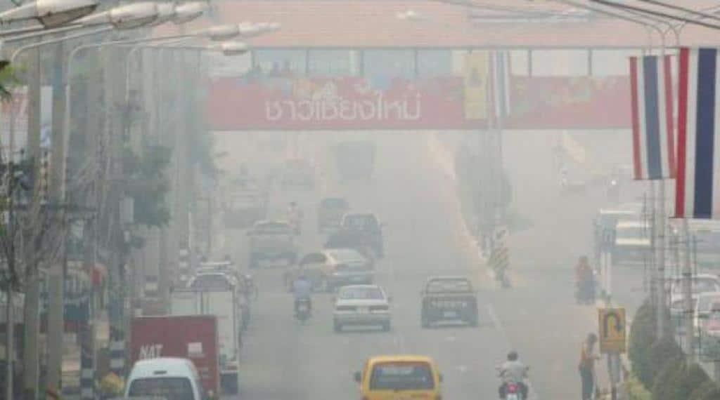 สถานการณ์หมอกควันไฟป่า จ.เชียงใหม่ ยังวิกฤติ ล่าสุดถูกจัดอันดับคุณภาพอากาศแย่ อันดับ 1 ของโลก