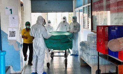 COVID กว่า 50 คนจัดโรงพยาบาลสำรองที่มหาวิทยาลัยแม่ฟ้าหลวง