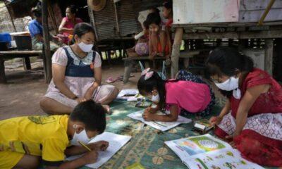 เด็ก 33 คนติดเชื้อไวรัสโควิดที่บ้านเด็ก