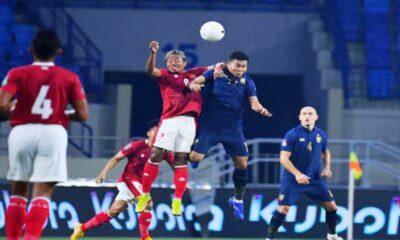 """""""ไฮไลท์"""" ไทยเสมออินโดนีเซีย 2-2 ฟุตบอลโลก รอบคัดเลือก"""