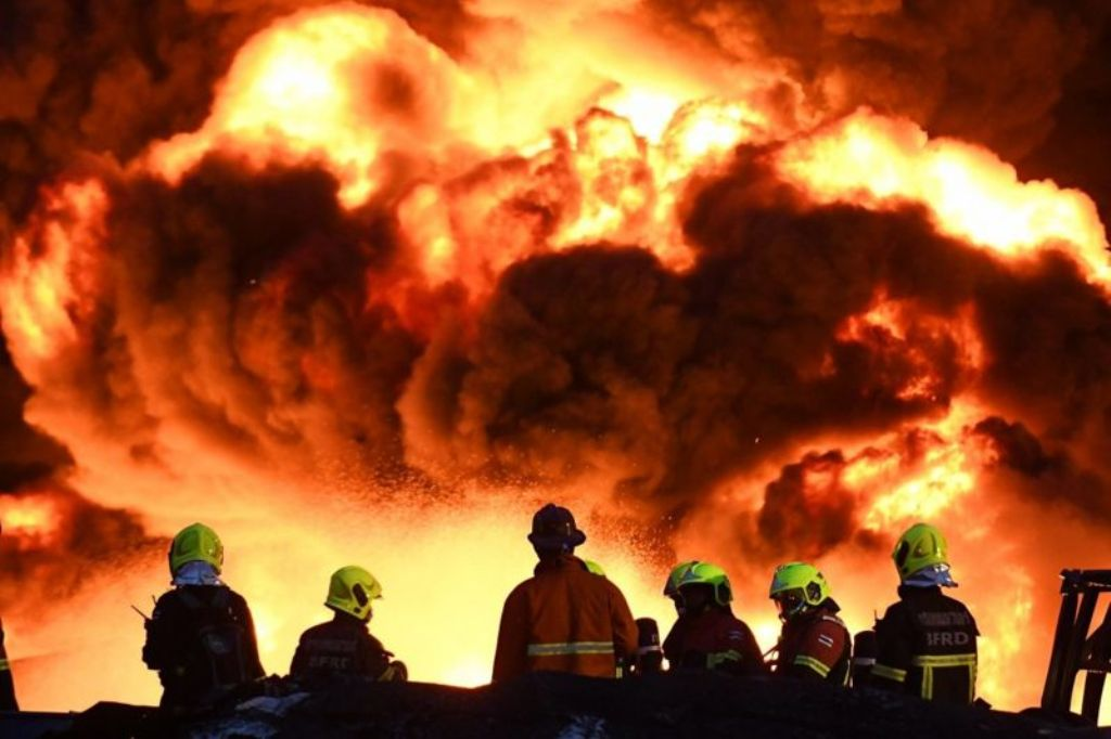 Firefighter Killed Another 12 Injured after Chemical Factory Explodes