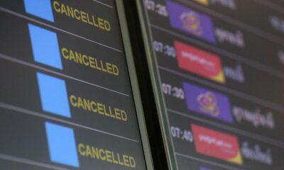 รัฐบาลประกาศระงับเที่ยวบินเข้า-ออก 13 จังหวัดสีแดงเข้ม เริ่ม 21 ก.ค. นี้