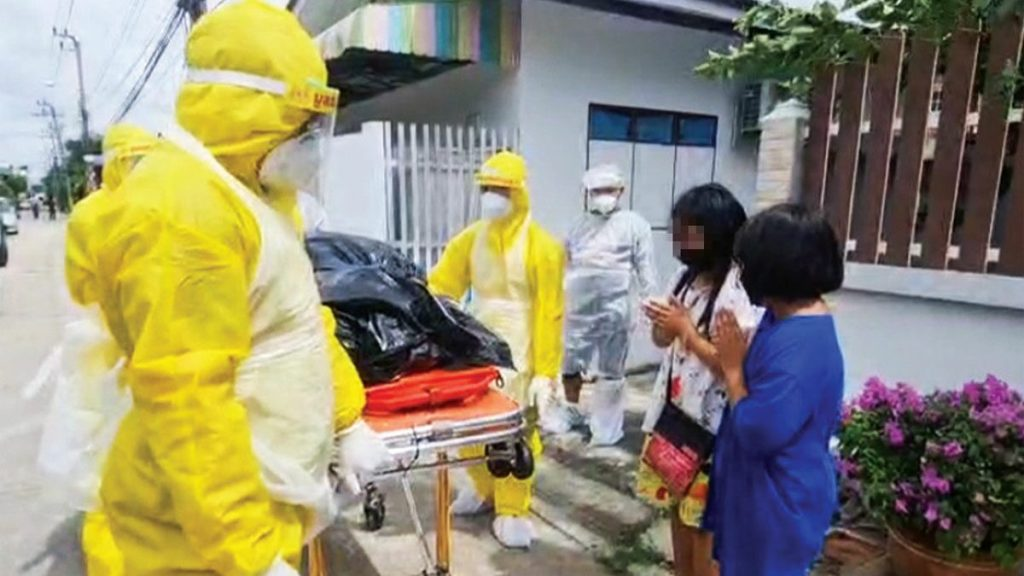 เด็กสาวสองคนตื่นขึ้นมาพบแม่ที่เสียชีวิตจากโควิด-19