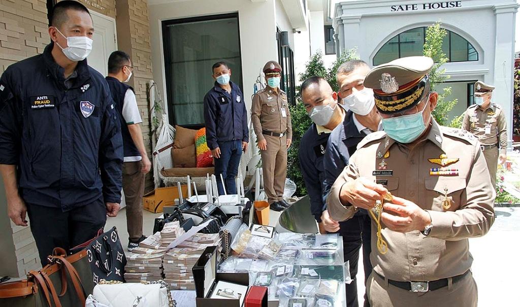 ตำรวจไซเบอร์ของประเทศไทยล้มองค์กรการพนันออนไลน์