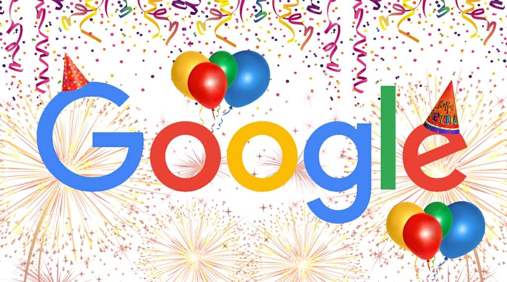 วันเกิดกูเกิล -วันเกิดของ Google