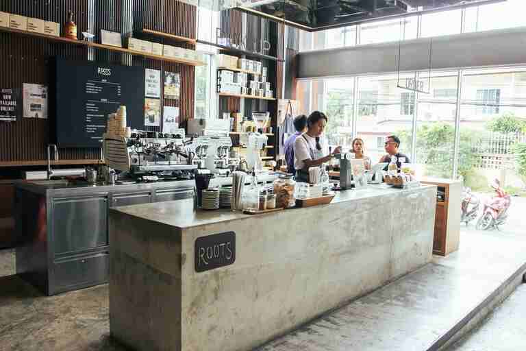 Roots Coffee shop