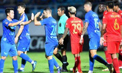 ผลบอลสดไทย ชลบุรีไล่เจ๊าเชียงใหม่ 1-1