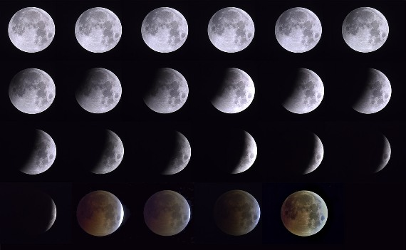 View Lunar Eclipse in Chiangrai on June 16th