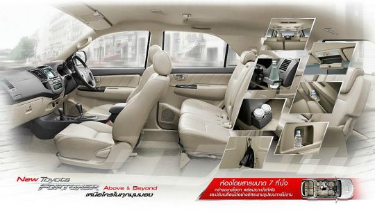 2012 Toyota Fortuner Revealed Thailand | Chiang Rai Times English