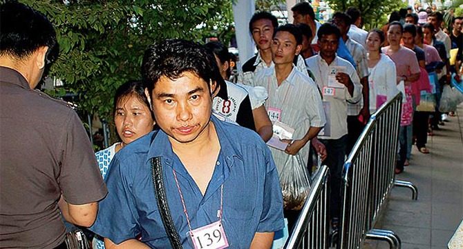 Migrant Workers in Chiangrai Thailand