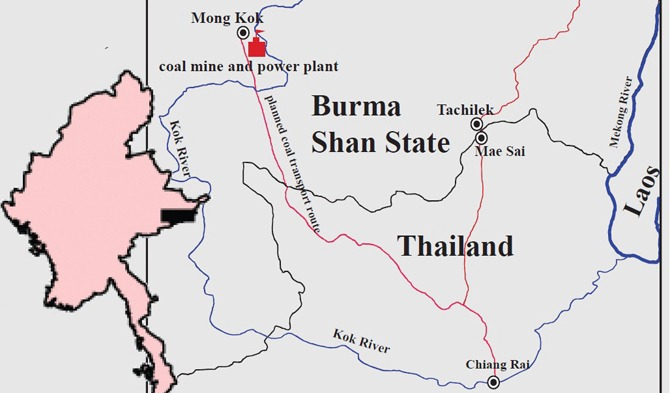 Mong Koke Coal Mining Project will Cause a Greenhouse effect in Chiangrai