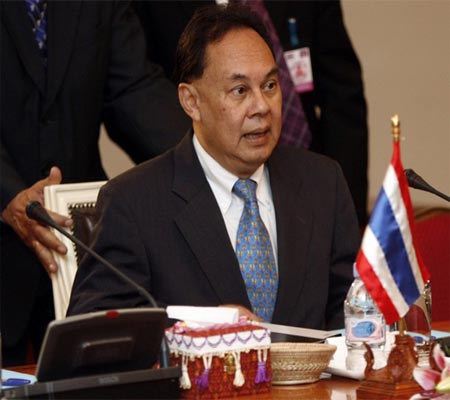 """Foreign Minister Kasit Piromya said """"There is No reason for us to deposit the 20 million"""""""