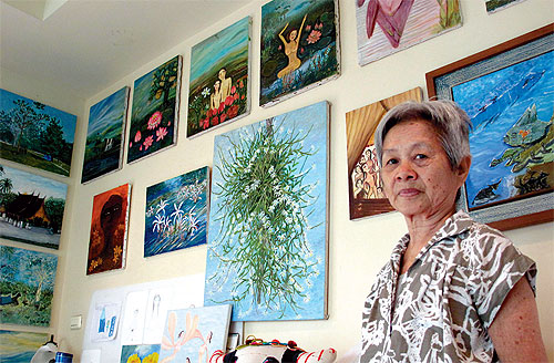 Heart Surgery Doesn't Deter 72-year-old from Painting
