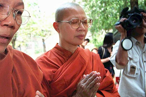 Thailand's Female Monks ask for Legal Recognition