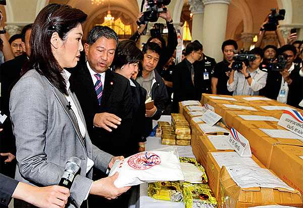 Thai PM take a New Stance on Fighting Drugs