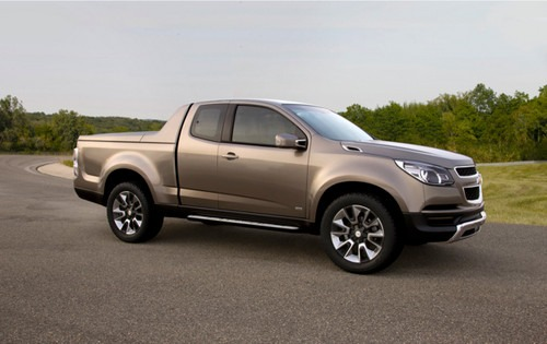 Chevy Colorado Gets Ready for World Debut