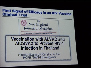 Thailand Vaccine the Beginning of the End of AIDS?