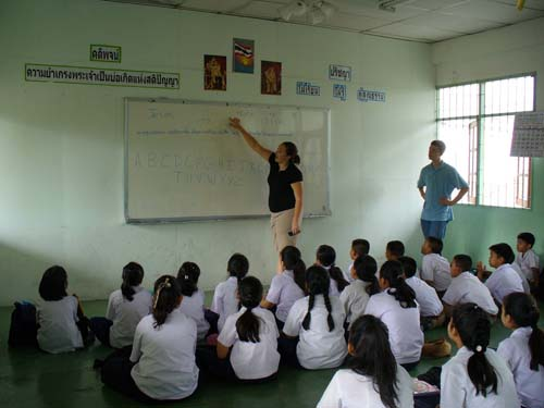 Problems with Teaching English in Thailand