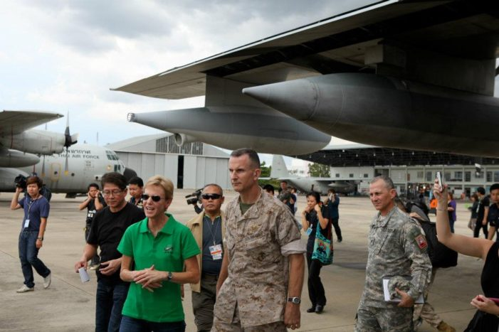 US Marines Help Assess Bangkok