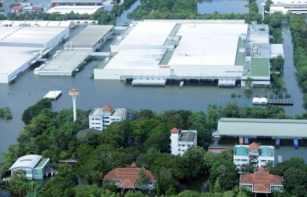 Thailand Flooding has Curtailed Production of Computer Storage Drives.