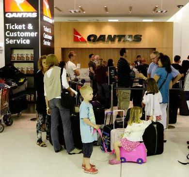 It's Not a G'Day Mate as Qantas Grounds Fleet