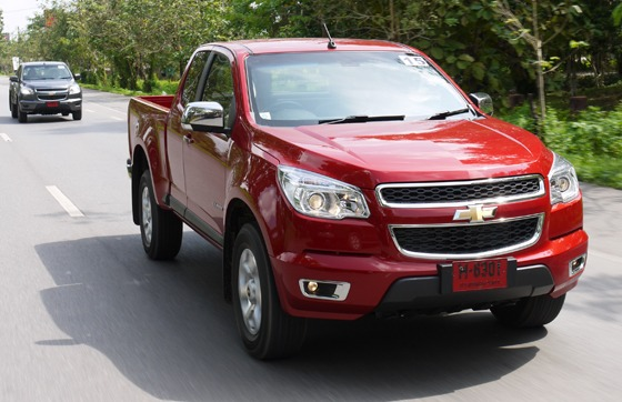 GM Looks to have a Clear Winner with the New Colorado – Thailand