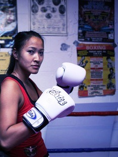 Canadian Fighter gets her Kicks in Chiang Mai