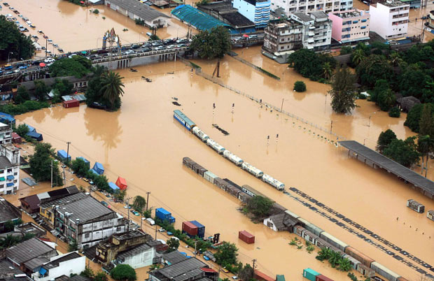 Flooding Effects Auto Industry World Wide