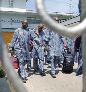 Complaints from Nigerian's in Thailands Prisons