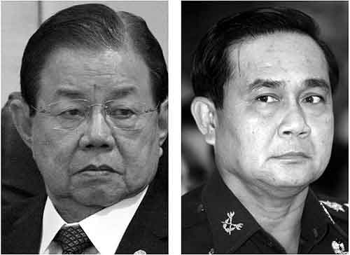 Generals have Different Opinions on Chiangrai