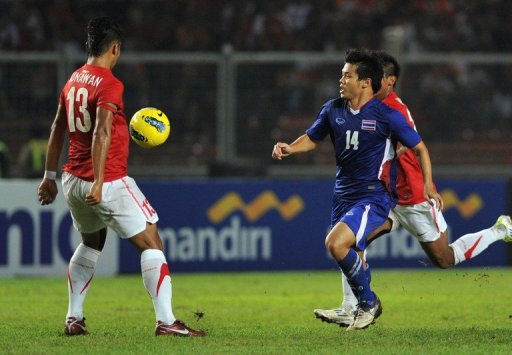 Thailand 3-1 loss to Hosts Indonesia