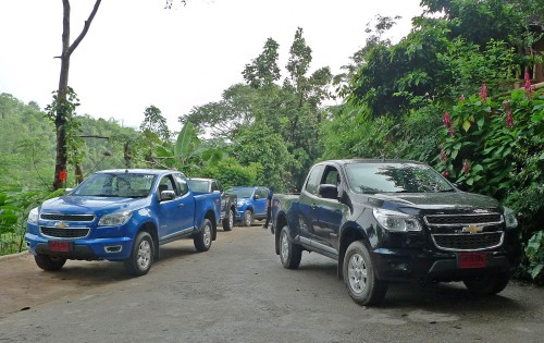 New Chevrolet Colorado Tested in Chiangrai