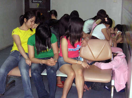 Young Women Rescued from Prostitution