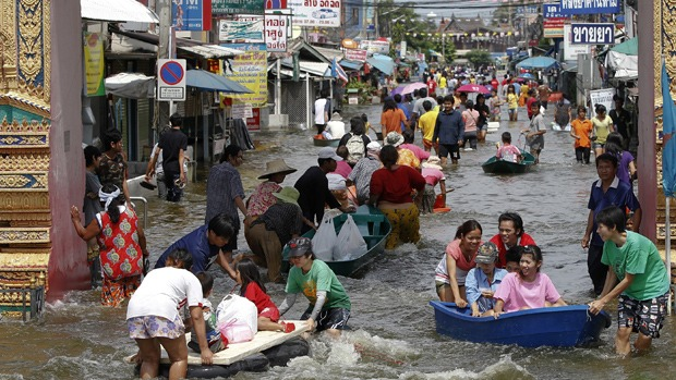 Insurance Claims From Thai Floods to Run in the Billions