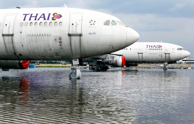 Flooding Effecting Tourism in Thailand