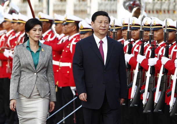Chinese Vice President Visits Thailand