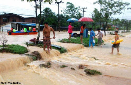 Happy Flood Year – Flash Floods Hit 3 Provinces in Southern Thailand
