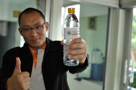 Chiangrai's Phetsuwan Mineral Water Started up with Buddhism Beliefs