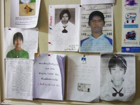 Thailand Lacks Effective Structure for Tracking Missing Children