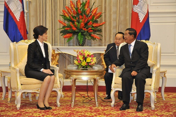 Cambodian PM Seeks Good Relations with Thailand