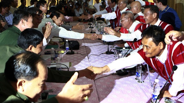 Myanmar's Signs a Historic Cease-Fire Agreement