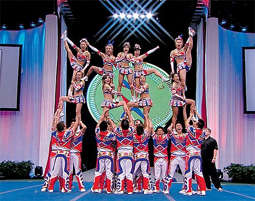 Thailand's Cheer Ambassadors Catches Eyes
