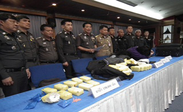 Bt50 Million of Drugs Seized in Chiang Rai